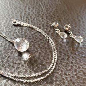 VTG Sarah Coventry necklace & earring set